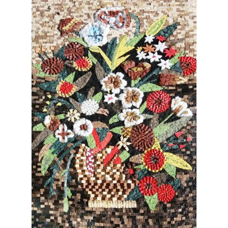 Forever Young Mosaic Flowers