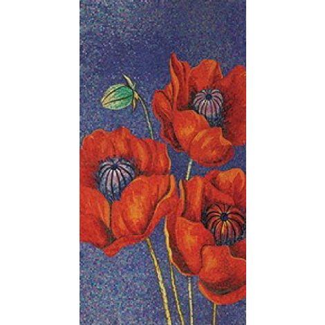 Orange Blossoms Mosaic Artwork