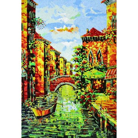 Venice Contemporary Mosaic Artwork