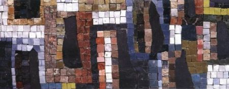 The City Abstract Mosaic Design