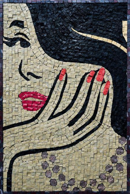 Lashy Charm Mosaic Art
