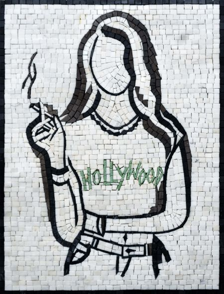 Teen Spirit Tile Mosaic Artwork