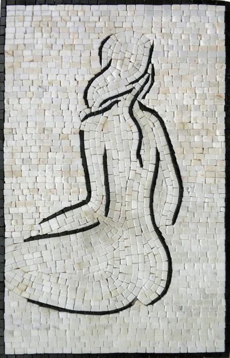 Waiting Tile Mosaic Design