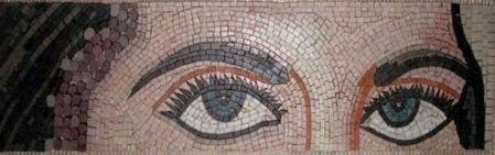 Mirror of a Soul Mosaic Art