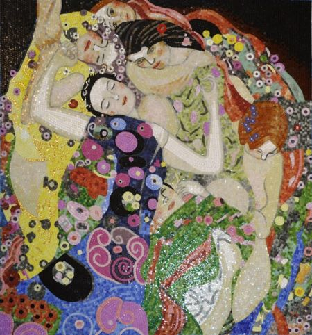 Gustav Klimt's The Virgins