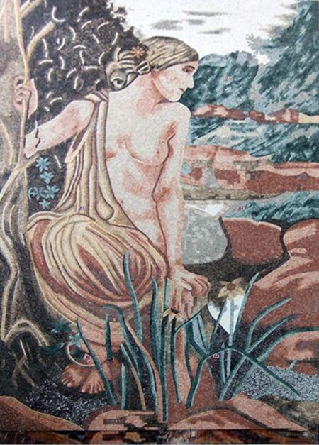 Half-Nude Lady