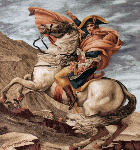 Jacques-Louis David's Napoleon Crossing the Alps
