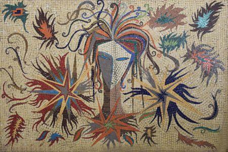 Mardis Gras Mosaic Design