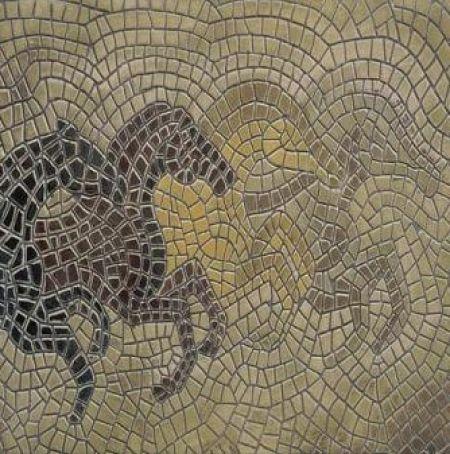 Horse Palette Mosaic Artwork