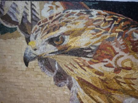 The Riddle of Eagle Mosaic Design