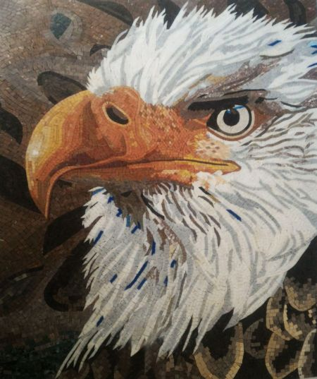 Bald Eagle Mosaic Masterpiece