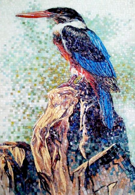Kingfisher Mosaic Art