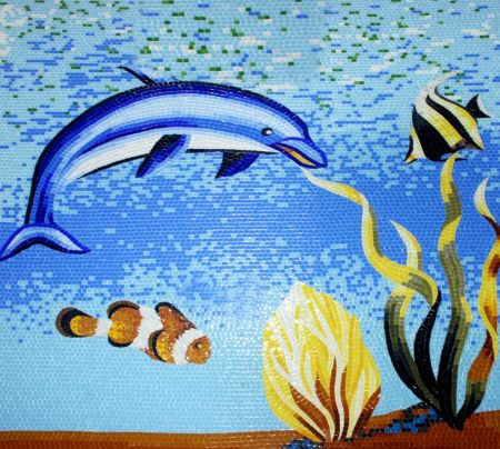 Under The Sea Mosaic Art
