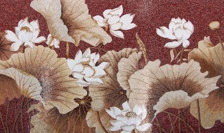 Floral Charm Mosaic Design