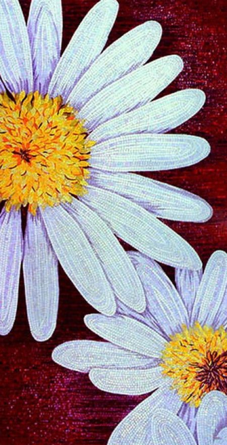 The Bracing Chamomile Mosaic Design