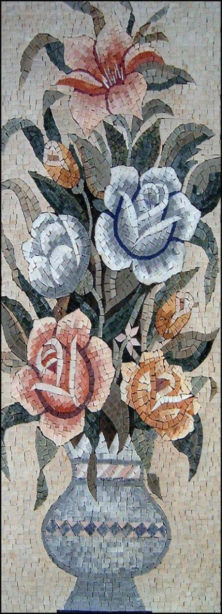 Stubborn Blooms Mosaic Art