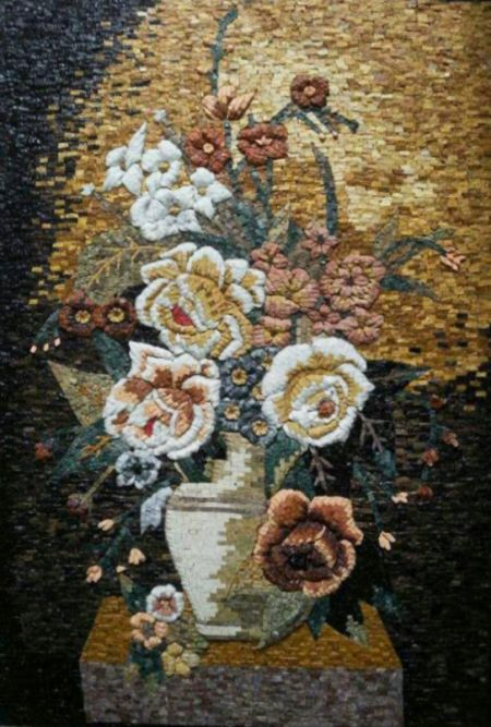 Faded Memories Mosaic Art