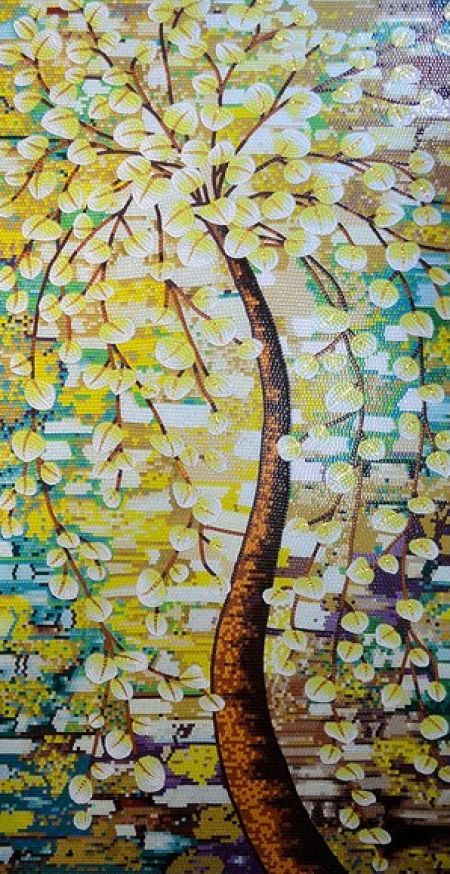 The Picnic Tree Mosaic Design