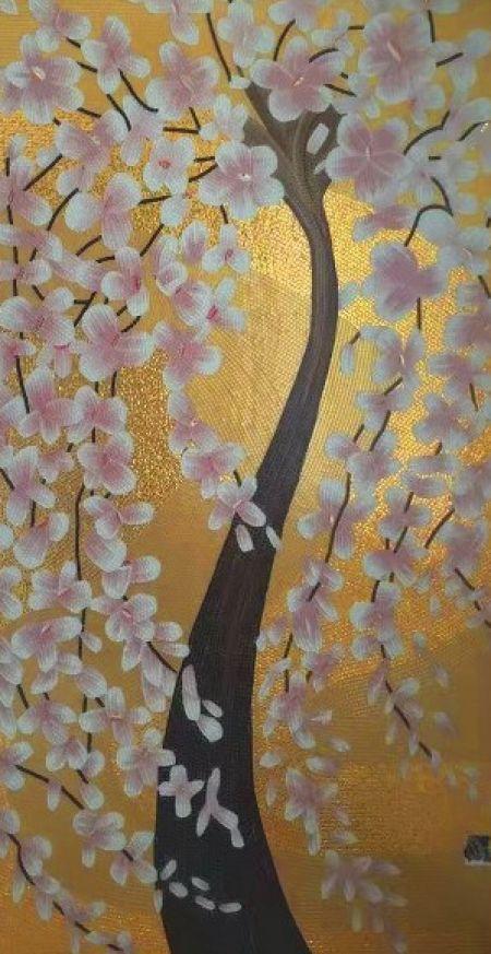 Sunshine Blossom Mosaic Wall Art
