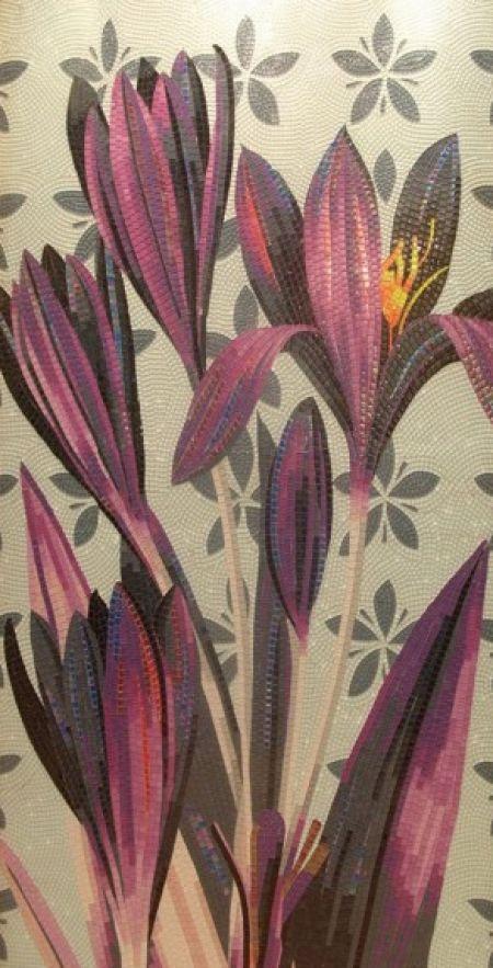 Purple Purity Tile Mosaic