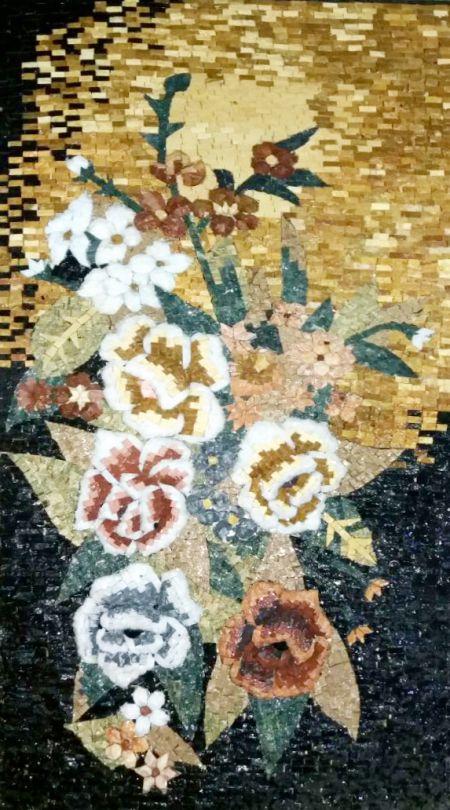Bridal Bouquet Mosaic Decor