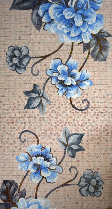 Tricky Flowers Customized Mosaics