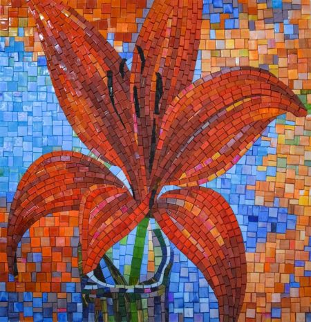 Fashionista Mosaic Art
