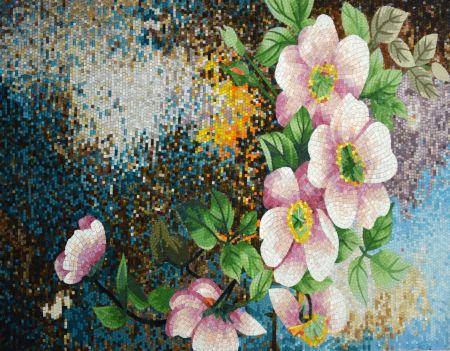 Lotus Pond Floral Mosaic