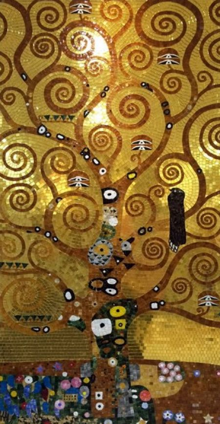 Gustav Klimt's Tree of Life
