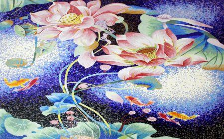 Lotus & Koi Pond