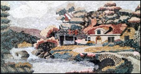 Home Sweet Home Mosaic Artwork