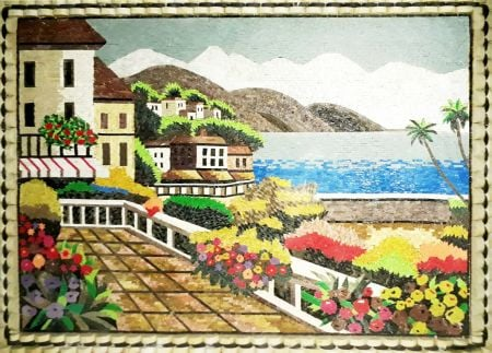 Dream House Mosaic Artwork