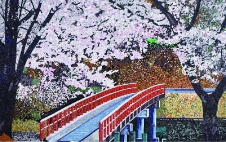 The Bridge Mosaic Art