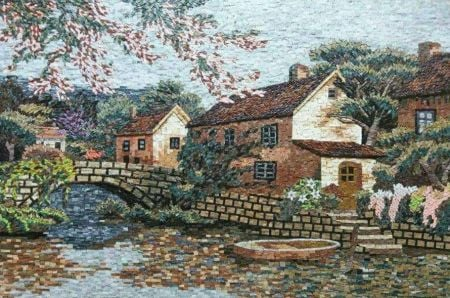 Old Bridge Mosaic Art