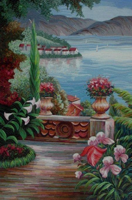 Garden's Bayview Mosaic Design