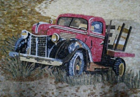 Time Gone By Mosaic Artwork