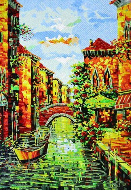 Venice Contemporary Mosaic Artwork