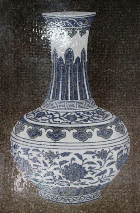 Magic Amphora Mosaic Design