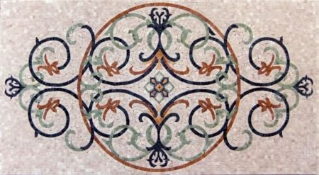 The Mystery Garden Mosaic Design