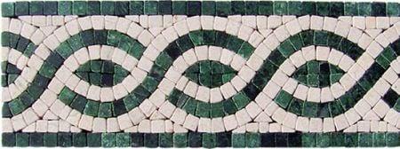Aspasia Marble Tile Mosaic Border