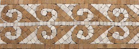 Athena Marble Tile Mosaic Border