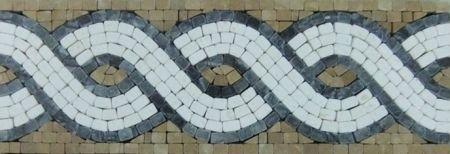 Calantha Marble Tile Mosaic Border