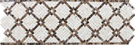 Calla Marble Tile Mosaic Border