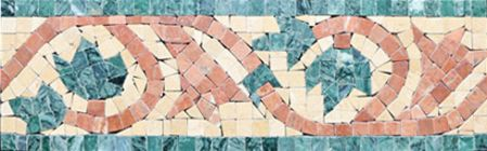 Cleopatra Marble Tile Mosaic Border