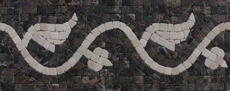 Clio Marble Tile Mosaic Border