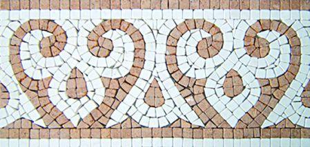 Cyma Marble Tile Mosaic Border