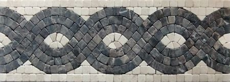 Damianos Marble Tile Mosaic Border
