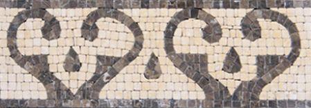 Delia Marble Tile Mosaic Border