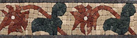 Demetios Marble Tile Mosaic Border