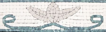 Dionis Marble Tile Mosaic Border